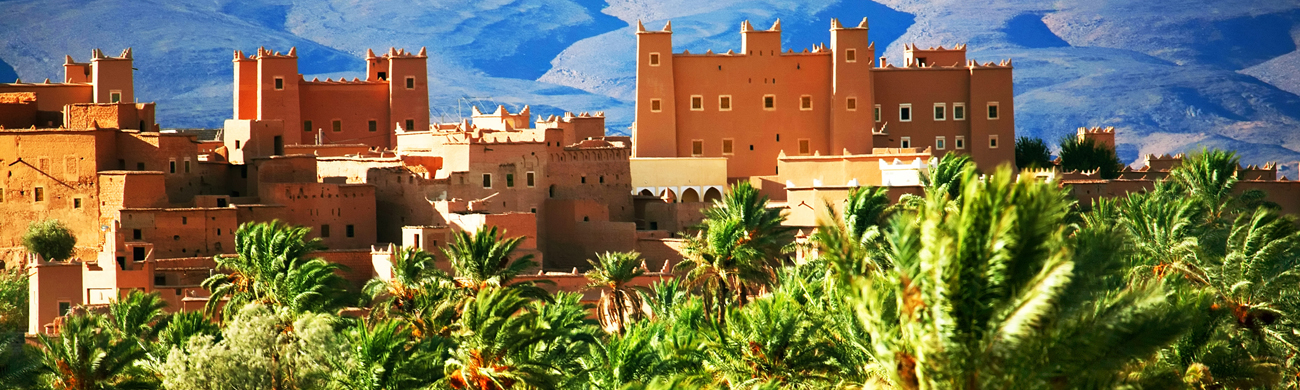 Moroccan kasbah - Atlas Mountains, Morocco