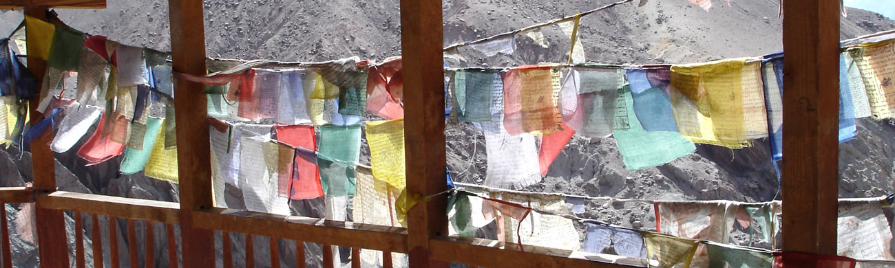 Prayer flags-Leh, Ladakh, India