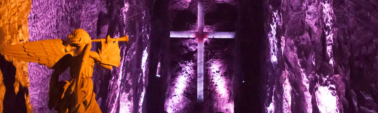 Salt Cathedral - Zipaquira, Colombia