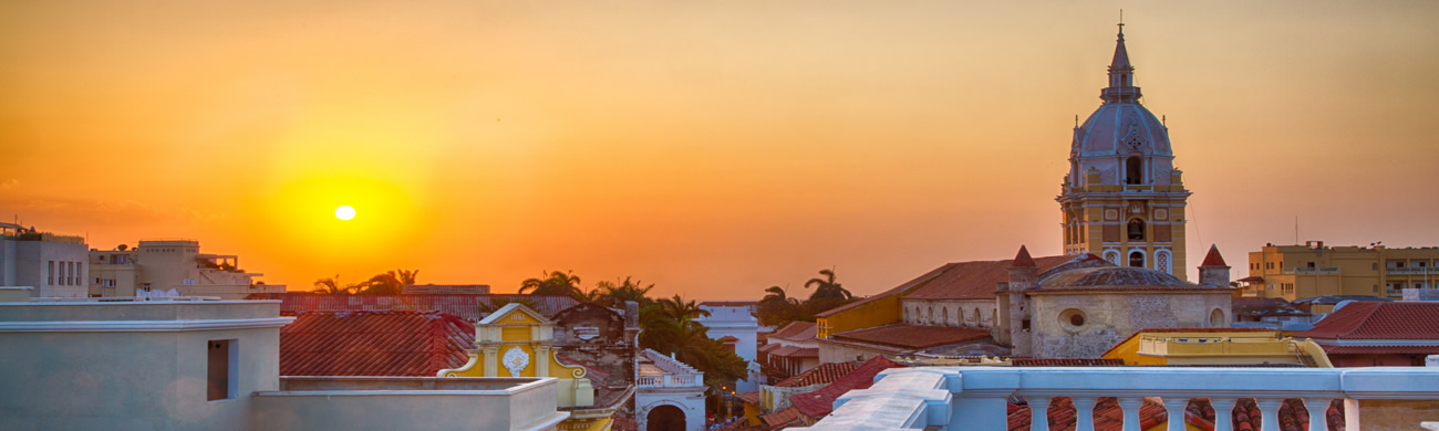 Sunset - Cartegena, Colombia