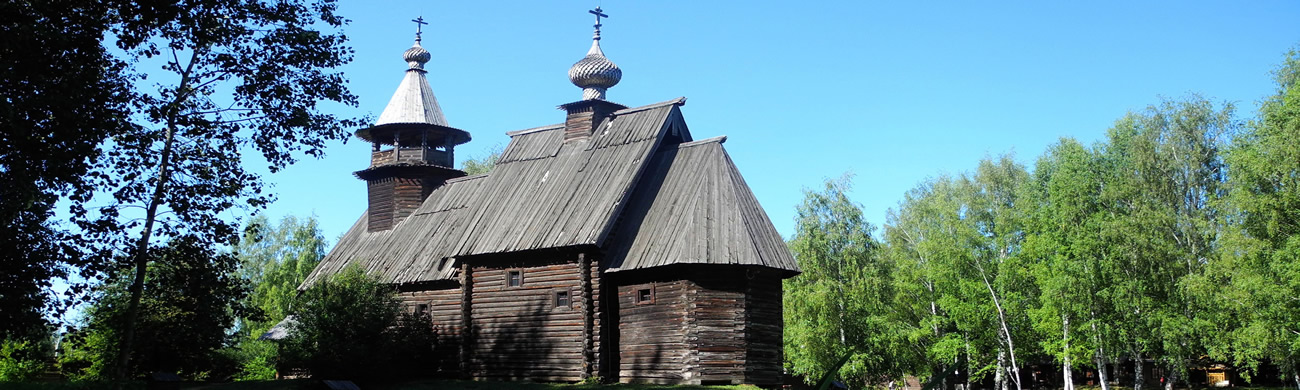 Wooden church-Kostroma, Russia