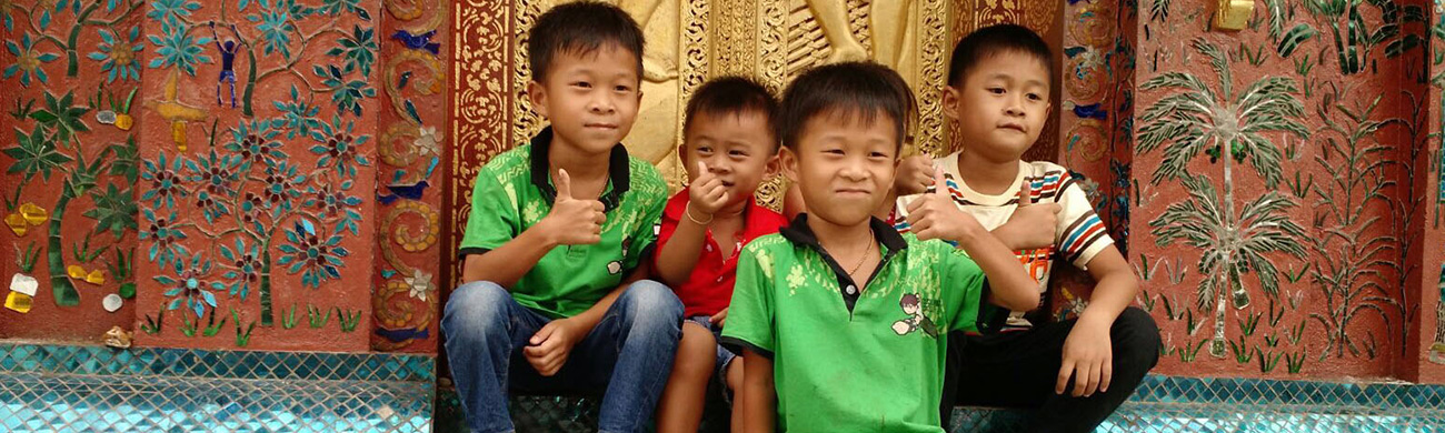 Laos children