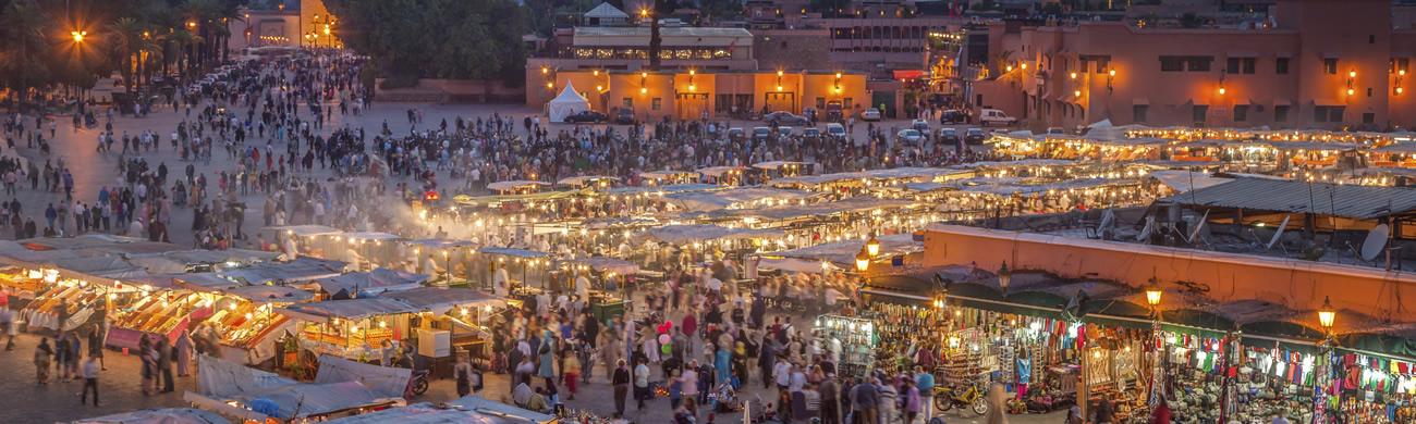Djemaa el Fna - Marrakesh, Morocco