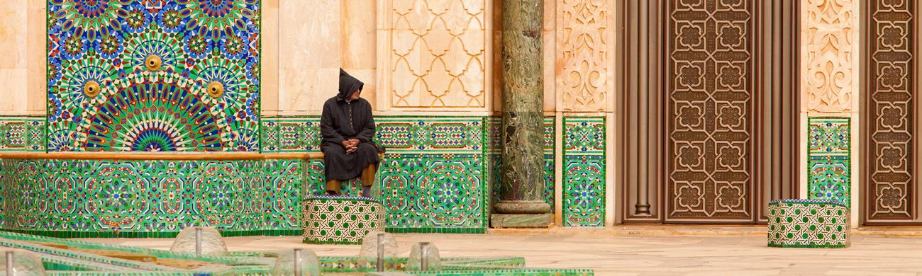 Hasan II Mosque-Casablanca, Morocco