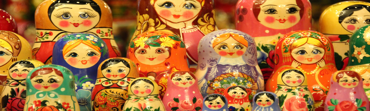 Golden Ring Of Russia Russian Dolls