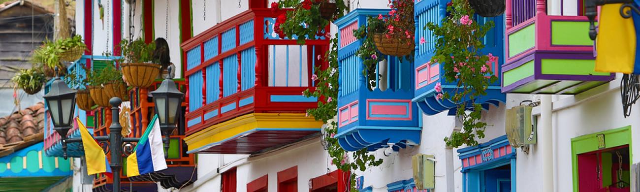 Salento balconies - Valle de Corcora, Colombia